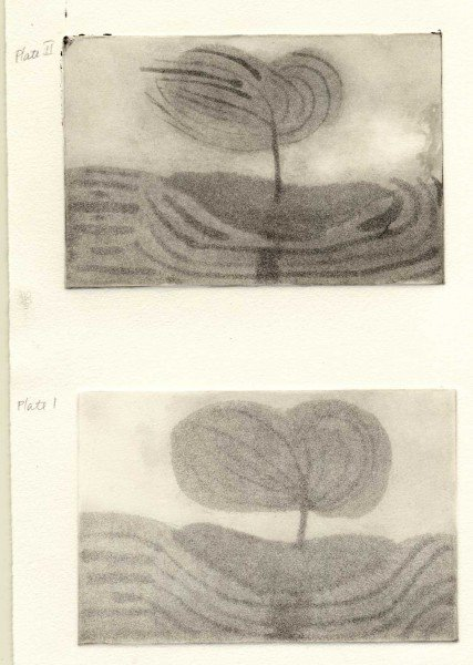 Plate 1 and 2 prints