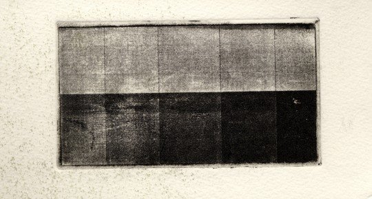 Printed tonal scale