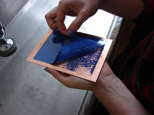 Peeling Plate 1