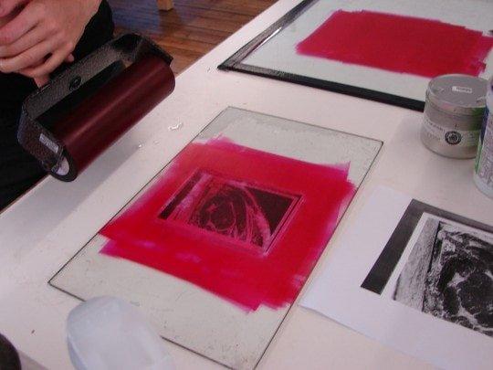 BIG is rolled onto photocopy 2