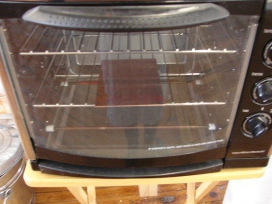 Plate 10 in the oven