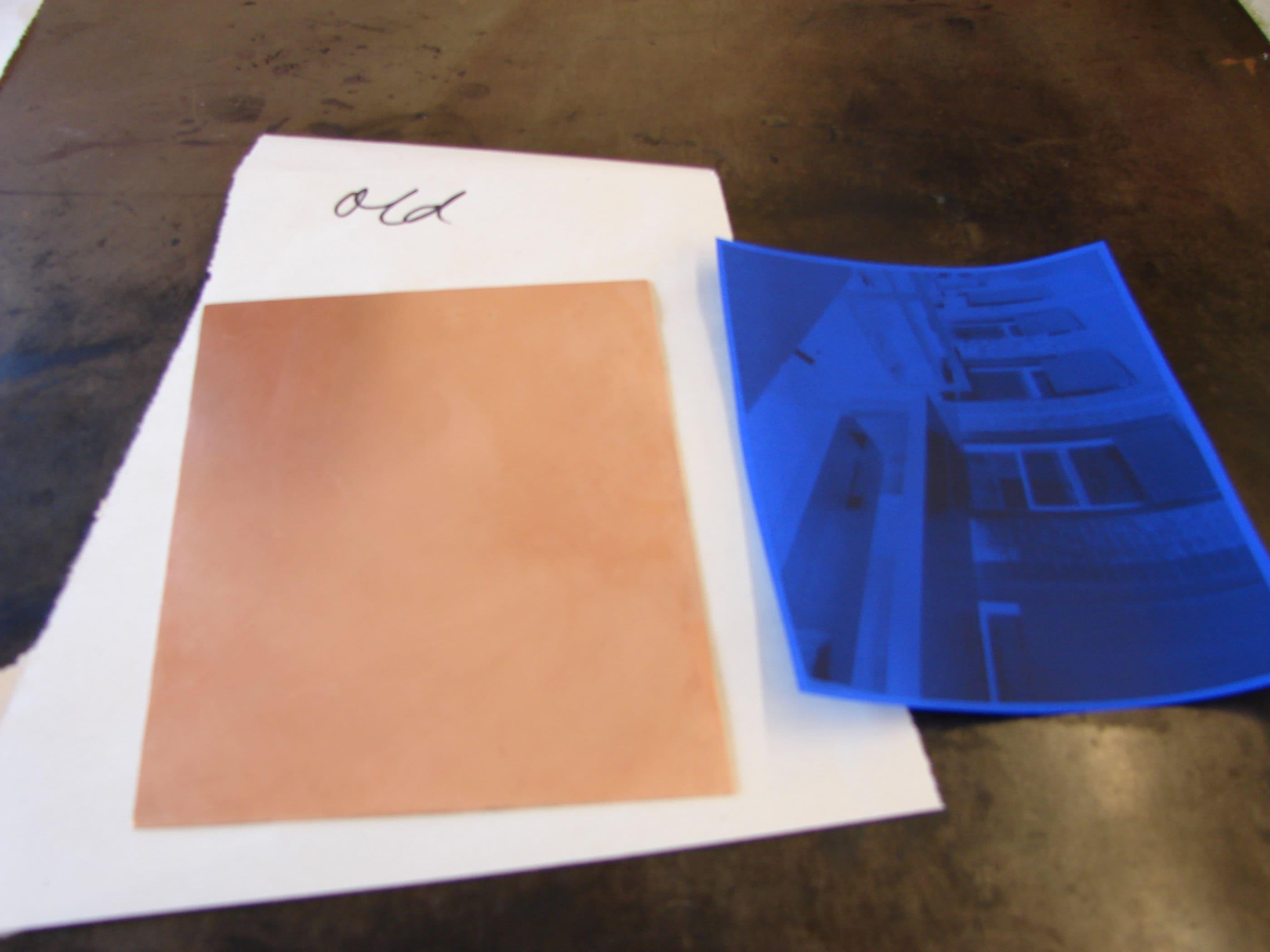 press n peel test 22 | Zea Mays Printmaking