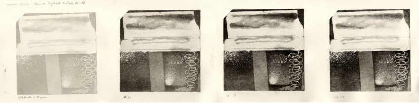Warm plate alumina hydrate