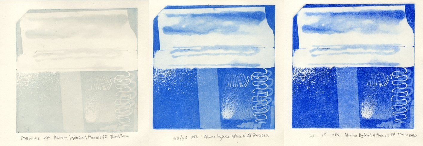 process blue alumina hydrate