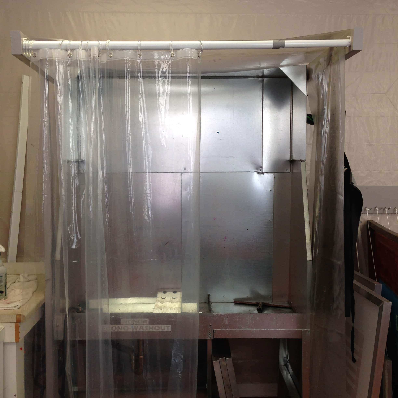 Washout Booth Zea Mays Printmaking