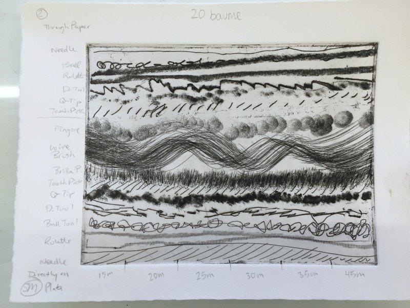 20 baume plate printed
