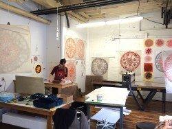 2015 Residency artist Maria Doering