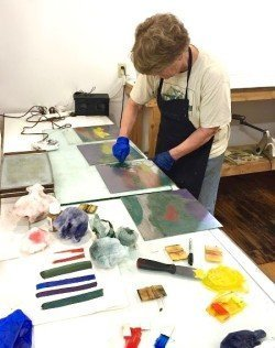 Intaglio Color Printing and Master Wiping Class