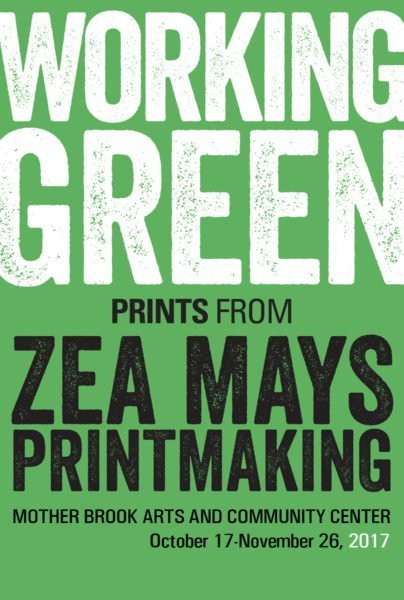 Working Green: Prints from Zea Mays Printmaking