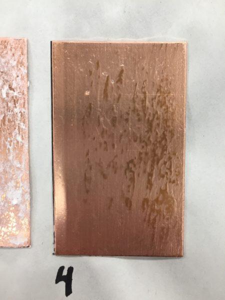 Bioplastic Hardground – Silicon Dioxide: Experiment 1 | Zea